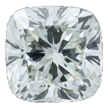 0.70 Carat Cushion Loose Diamond, H, VS2, Excellent, GIA Certified