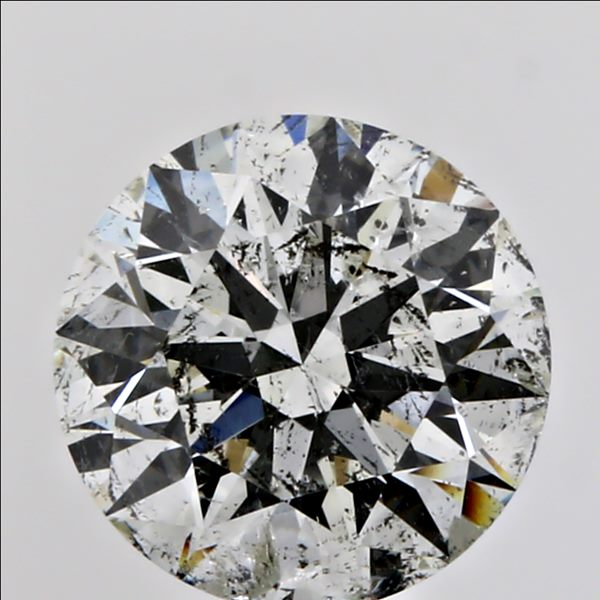 1.00 Carat Round Loose Diamond, I, I1, Super Ideal, GIA Certified