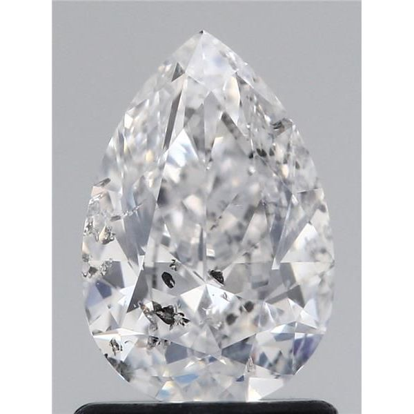 1.04 Carat Pear Loose Diamond, E, I2, Excellent, GIA Certified
