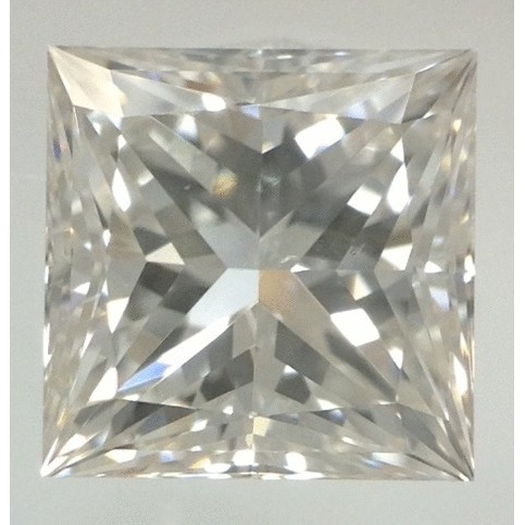 1.05 Carat Princess Loose Diamond, F, SI1, Super Ideal, GIA Certified
