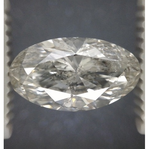 2.91 Carat Oval Loose Diamond, H, SI2, Excellent, EGL Certified