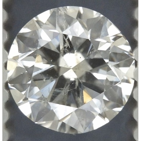 0.92 Carat Round Loose Diamond, I, SI2, Very Good, EGL Certified