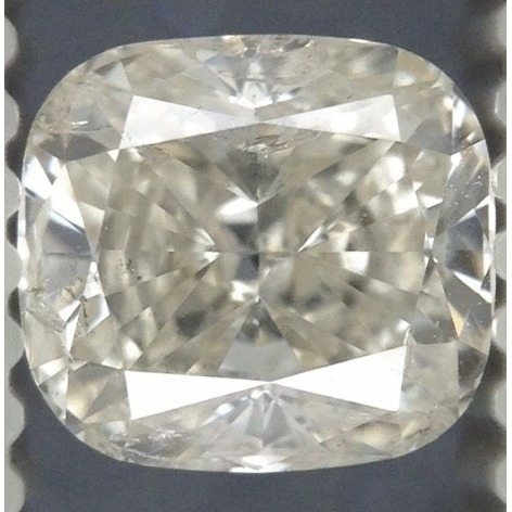 1.01 Carat Cushion Loose Diamond, H, SI2, Super Ideal, EGL Certified