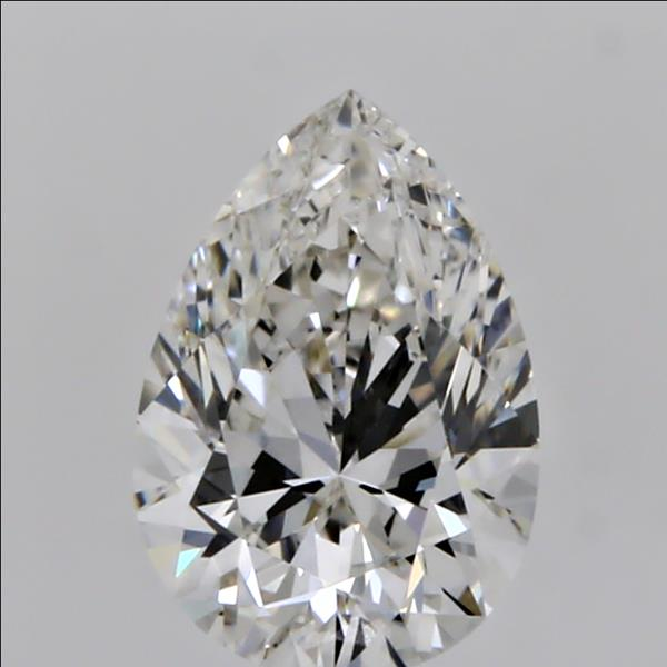 0.51 Carat Pear Loose Diamond, I, IF, Ideal, GIA Certified