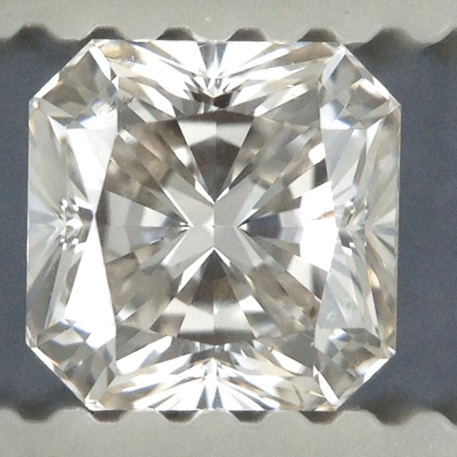 0.74 Carat Radiant Loose Diamond, G, SI1, Ideal, EGL Certified