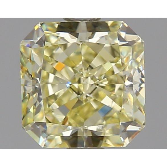 1.36 Carat Radiant Loose Diamond, Y - Z, VS1, Ideal, GIA Certified | Thumbnail