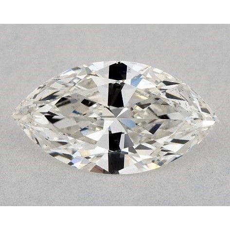 0.52 Carat Marquise Loose Diamond, H, SI1, Super Ideal, GIA Certified