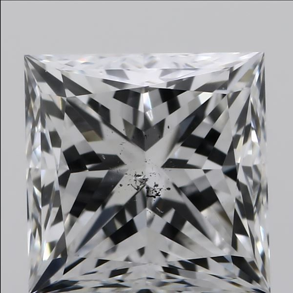 0.90 Carat Princess Loose Diamond, F, SI1, Excellent, GIA Certified