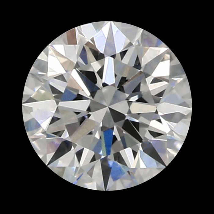 0.80 Carat Round Loose Diamond, F, VS2, Super Ideal, GIA Certified