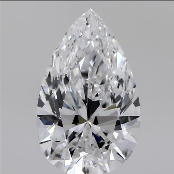 0.51 Carat Pear Loose Diamond, E, VVS1, Super Ideal, GIA Certified