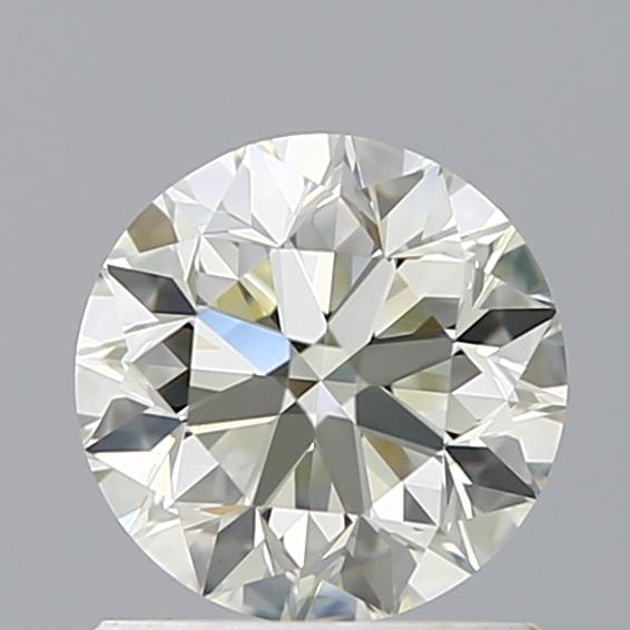 1.00 Carat Round Loose Diamond, O-P, VVS2, Excellent, GIA Certified