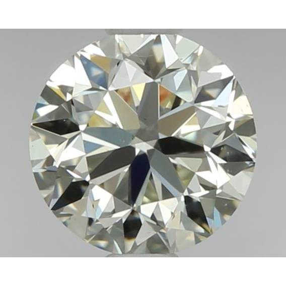 0.70 Carat Round Loose Diamond, M, VS1, Very Good, GIA Certified