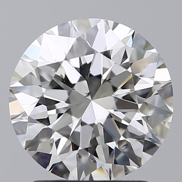 1.79 Carat Round Loose Diamond, H, SI1, Super Ideal, GIA Certified
