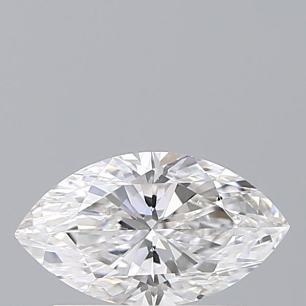 0.50 Carat Marquise Loose Diamond, F, VS2, Ideal, GIA Certified