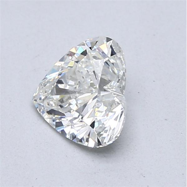 0.90 Carat Heart Loose Diamond, I, SI1, Super Ideal, GIA Certified