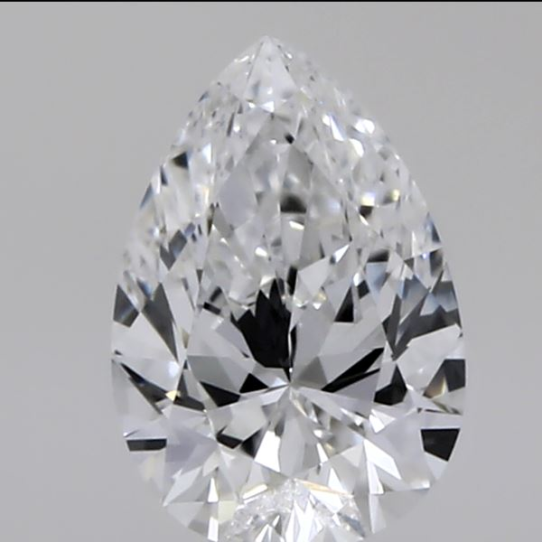 0.31 Carat Pear Loose Diamond, E, VVS2, Ideal, GIA Certified