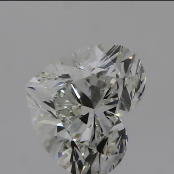 0.31 Carat Heart Loose Diamond, I, VS2, Ideal, GIA Certified