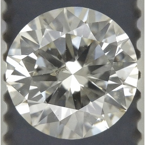 0.85 Carat Round Loose Diamond, L, SI2, Excellent, GIA Certified