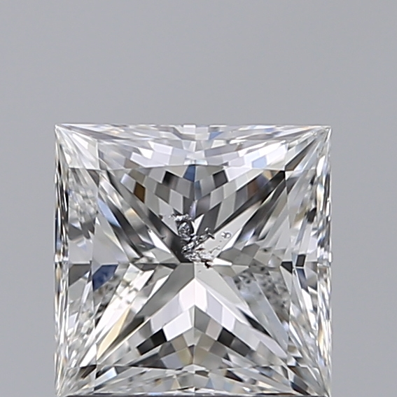 1.01 Carat Princess Loose Diamond, E, SI2, Super Ideal, GIA Certified