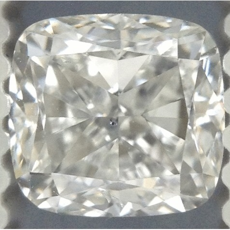 1.00 Carat Cushion Loose Diamond, G, SI1, Very Good, GIA Certified | Thumbnail