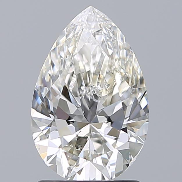 1.50 Carat Pear Loose Diamond, G, SI1, Super Ideal, GIA Certified