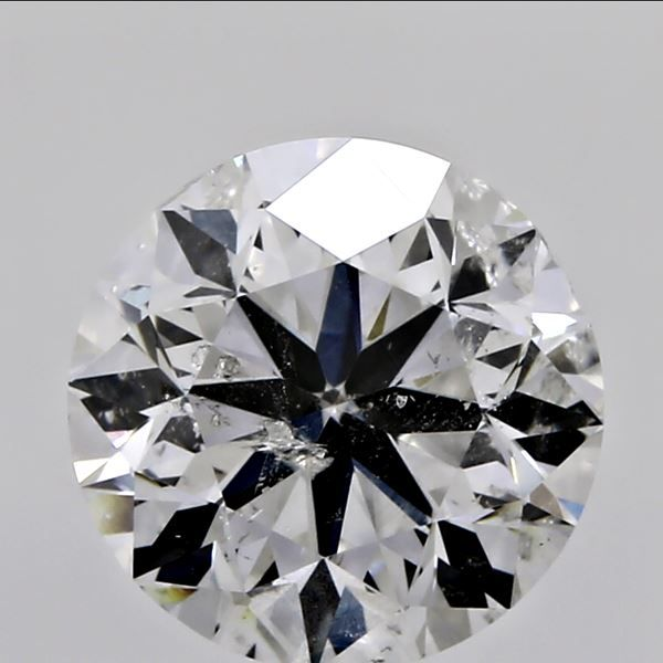 1.01 Carat Round Loose Diamond, H, I1, Excellent, GIA Certified | Thumbnail