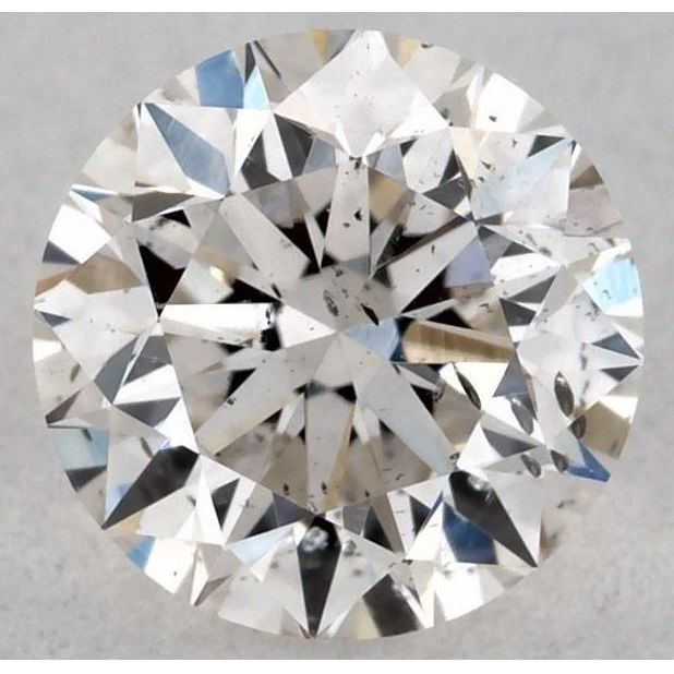 0.31 Carat Round Loose Diamond, I, SI2, Excellent, GIA Certified