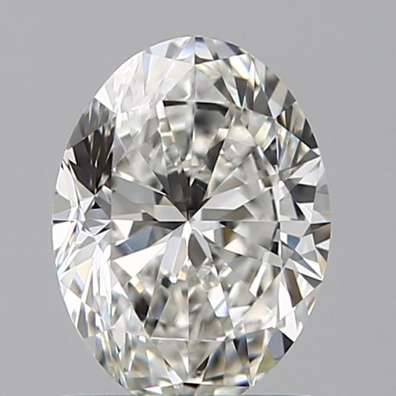 1.00 Carat Oval Loose Diamond, H, VS1, Ideal, GIA Certified