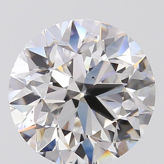 1.00 Carat Round Loose Diamond, F, VS2, Excellent, GIA Certified