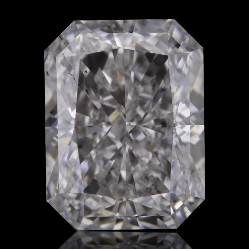 0.90 Carat Radiant Loose Diamond, E, SI1, Ideal, GIA Certified