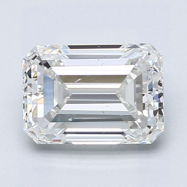 1.65 Carat Emerald Loose Diamond, G, SI1, Excellent, GIA Certified