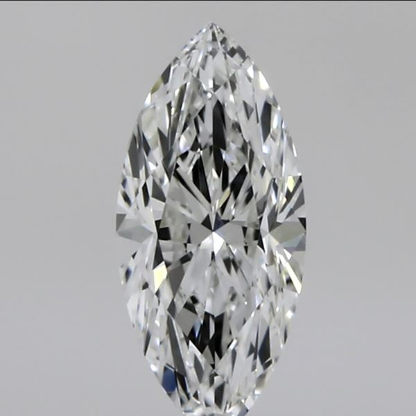 0.30 Carat Marquise Loose Diamond, H, VVS2, Excellent, GIA Certified
