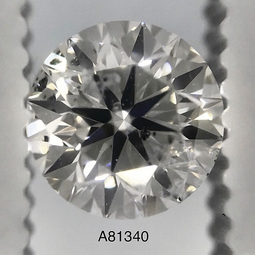 1.01 Carat Round Loose Diamond, F, I1, Ideal, GIA Certified