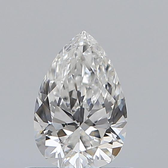 0.51 Carat Pear Loose Diamond, F, VS2, Super Ideal, GIA Certified
