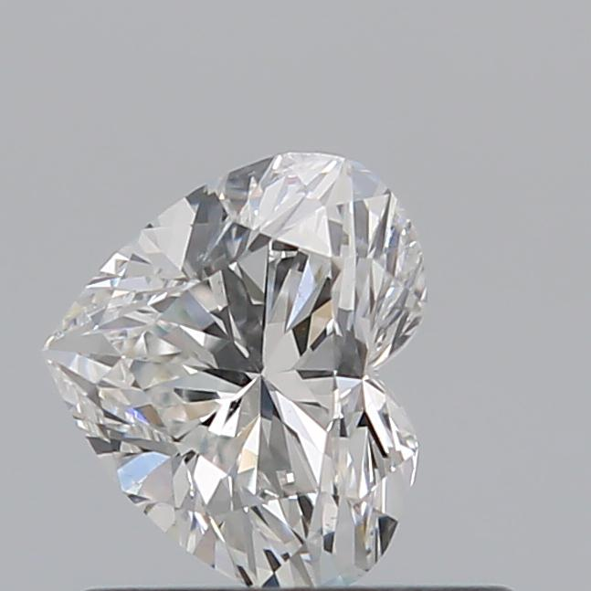 0.54 Carat Heart Loose Diamond, G, SI1, Ideal, GIA Certified