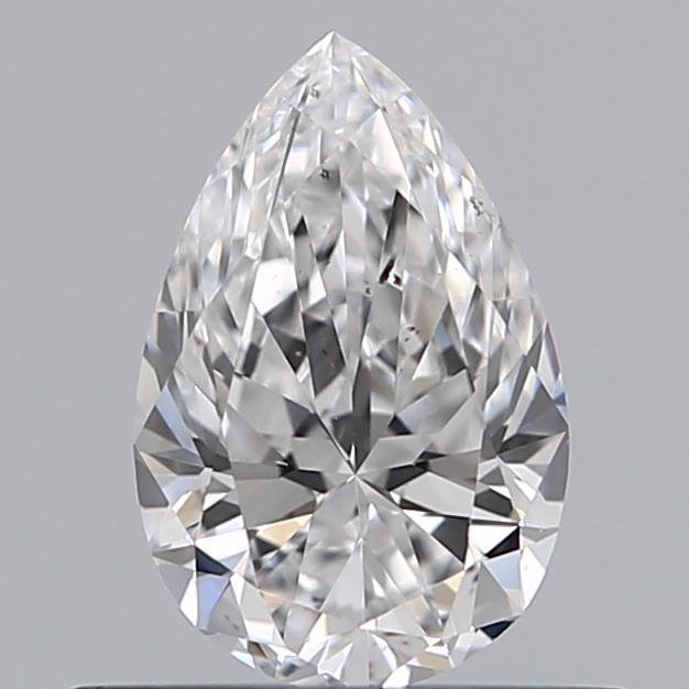 0.51 Carat Pear Loose Diamond, D, SI1, Super Ideal, GIA Certified | Thumbnail
