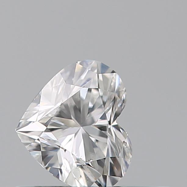 0.30 Carat Heart Loose Diamond, E, SI1, Excellent, GIA Certified