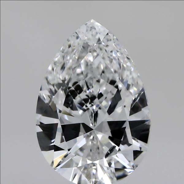 1.00 Carat Pear Loose Diamond, E, SI2, Super Ideal, GIA Certified