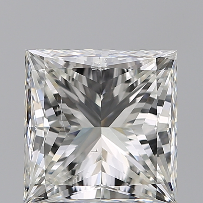 2.50 Carat Princess Loose Diamond, I, SI1, Super Ideal, GIA Certified