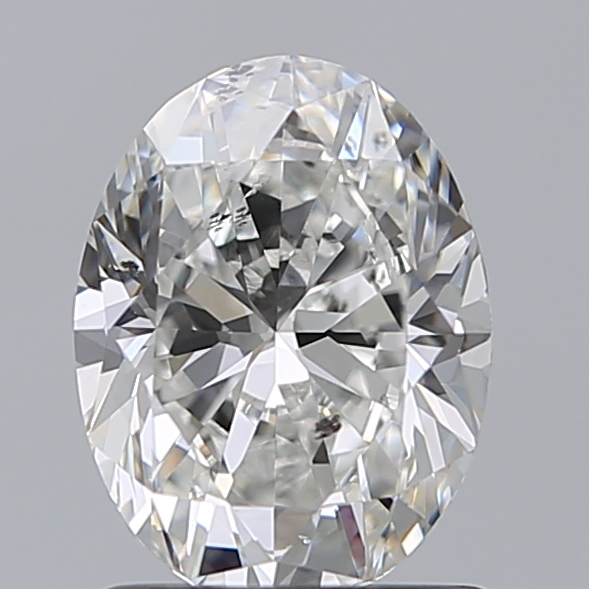 1.20 Carat Oval Loose Diamond, G, SI2, Ideal, GIA Certified | Thumbnail