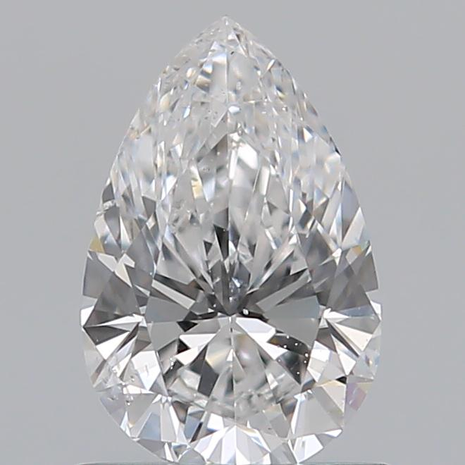 0.72 Carat Pear Loose Diamond, D, SI1, Super Ideal, GIA Certified | Thumbnail