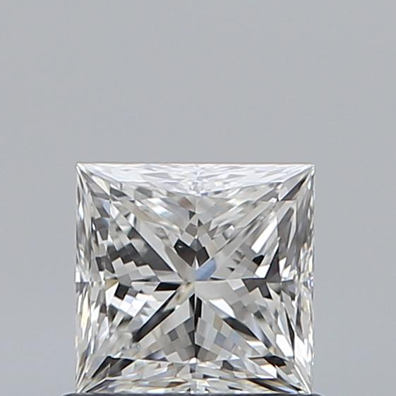 0.71 Carat Princess Loose Diamond, F, VS1, Ideal, GIA Certified