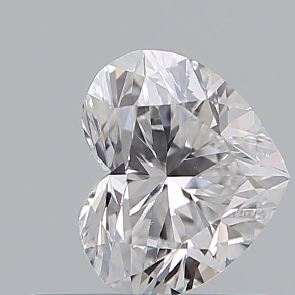 0.53 Carat Heart Loose Diamond, D, VS1, Super Ideal, GIA Certified