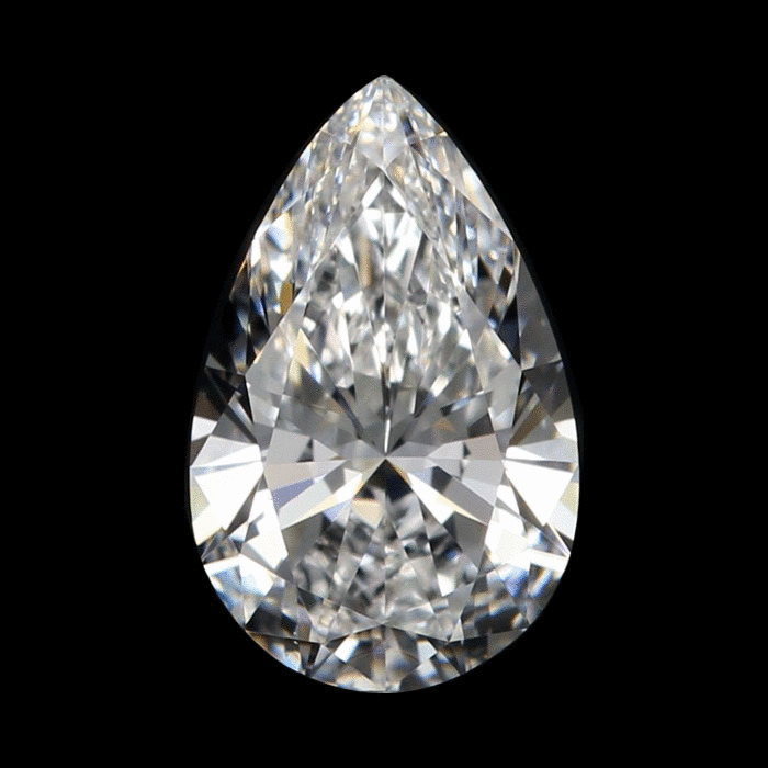 1.24 Carat Pear Loose Diamond, D, VS1, Super Ideal, GIA Certified | Thumbnail