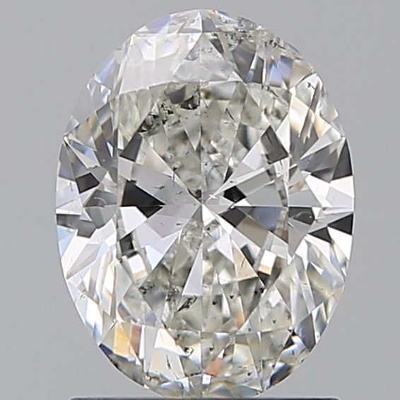 1.21 Carat Oval Loose Diamond, G, SI2, Excellent, GIA Certified