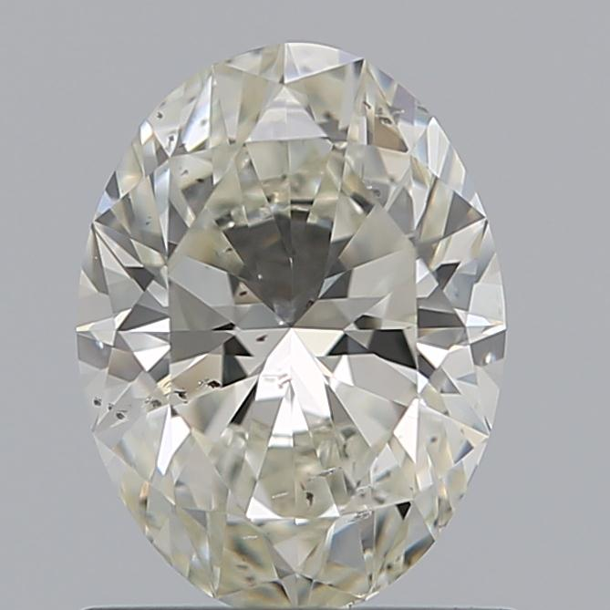 0.90 Carat Oval Loose Diamond, I, SI1, Super Ideal, GIA Certified