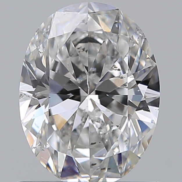 0.71 Carat Oval Loose Diamond, E, SI1, Ideal, GIA Certified