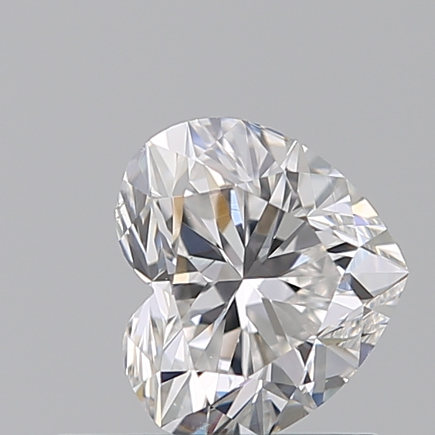 0.51 Carat Heart Loose Diamond, D, SI1, Ideal, GIA Certified