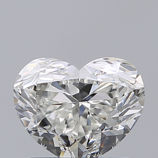 1.20 Carat Heart Loose Diamond, H, VS1, Ideal, GIA Certified