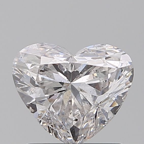 1.00 Carat Heart Loose Diamond, F, SI2, Excellent, GIA Certified